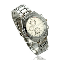 Best Christmas Gifts Wholesale Free Shipping High Quality Durable Stainless Steel Quartz Men Watch Drop Shipping