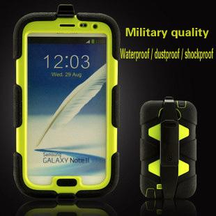 Three anti-,Waterproof,Drop resistance,Dustproof phone silicone galaxy Note ii 2 case for samsung Galaxy