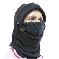 Multi-function Thermal Fleece Balaclava Hood Police Swat Wind Stopper Mask S7NF