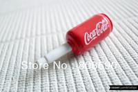 Miniature Coco Cola Phone Plug . Phone Charm . Phone Plug . Dust Plug // Coke, Can Soda, Geek, LoL, Funny, Hand Painted