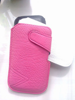 HKP ePacket Free Shipping Leather Pouch phone bags cases for lg google nexus 4 Cell Phone Accessories