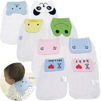 Senshukai baby style sweat absorbing towel baby 100% cotton pad sling gauze hanjin geheyan  Free Shipping