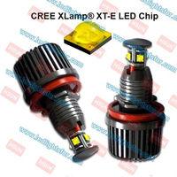 h8 40w led marker,40w CREE XLamp XT-E LED Chip angel eyes led,e87,e82,e90,e92,E60,E53 marker led car