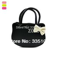 Wholesale 2pcs/lot Women's Lovely Cute Bag KT Cat Design Contrast Color Handbag Synthetic Leather Shoulder Bag 17475