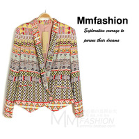 Fashion geometry mmfs blazer