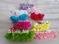 Paper Rose Flowers Mini artificial Flower Hand Made Small Wedding Bouquet Scrapbooking Decor