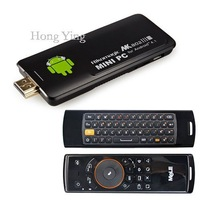 Android4.1 WIFI 1080P Rikomagic 5th MK802IIIS Mini PC TV Box + F10 MELE Wireless Keyboard free shipping wholesale