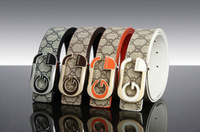 High Quality! 2013 New Fashion Men Clothes Accessories Genuine leather Black Casual Belt Free Shipping PD010
