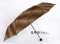 2013 Fashion  elargol strengthen sun-shading windproof umbrella fashion personality leopard print