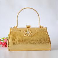 Gold ktv princess bag portable female bags dj princess bag banquet bag evening bag 18