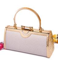 Handbag women's handbag ktv bag dj princess bag 2690 flash plaid
