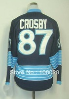 Free shipping,Ice Hockey Jersey,#87 Sidney Crosby Winter Classic Kids/Youth Hockey Jersey,Embroidery logos,Size S--XL,Mix Order