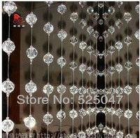Acrylic crystal bead curtain curtains for background wall glass bead curtain fashion curtains
