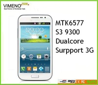 "High qualiy cloneing TOP ONE SALING Real 1:1 I9300! MTK6577 1GB RAM android 4.2.9 Dual core 1.4GHz 4.7"" IPS screen"