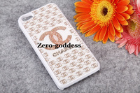 2013 Bling Bling Brand Movable Swarovski Crystal Case Hard Back Cover Case for iPhone 5/4/4s Mix order without retail box