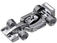 Metal F1 car model USB 2.0 Memory Stick Flash pen Drive 16G 32G 64G 128G P203 can exchange for other models