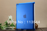 New arrive Free Shipping Transparent Crystal Cover Case for iPad Minifunction colorful smart cover for ipad high quality