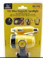 12V 5 Led Mini Magnetic Car Torch Spotlight Lamp New