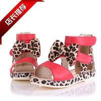 Female child sandals 2013 princess shoes open toe sandals child summer children shoes flats female