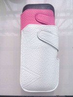 HKP ePacket Free Shipping Leather Pouch phone bags cases for huawei ascend p2 Cell Phone Accessories