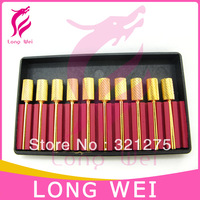 Wholesale 10PCS  Inverted Backfill Demand Gold Sanding Electric File Round Style Original Nail Drill Accessories