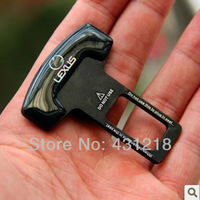 INstock Freeshipping Promotion 6pcs Eliminate Stop Alarm Seat Belt Insert Plug for LEXUS
