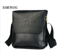 Free shipping! Men shoulder bag, men genuine leather messenger bag,high quality business bags, briefcase