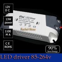 Free shipping 1pcs MR16 g4 Led strip light LED LIGHT BULB Electronic Driver Transformer DC12V  1.1a Power Supply AC 85 264