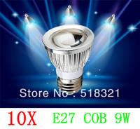 10X E27 GU10 MR16 E14 9W 12W 15W COB LED lighting led bulb Led light led lamp energy saving 90% 85-265V free shipping