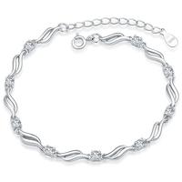 2014 sale freeshipping women water drop trendy yes new 925 pure bracelet female women's jewelry cuicanduomu seiko showiest of