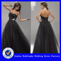 2013 Sexy Strapless Beaded Tulle Prom Dress