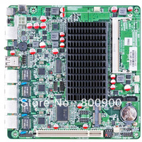 Firewall motherboard Intel Atom D2550 dual core processor NM10 Express chipset 4 Intel 82583V Gigabit  built-in L256 watchdog