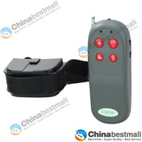 4 IN 1 Remote Pet Training Vibra & Electric Shock collar No bark training collar for One Dog Chinabestmall-Chinabestmall