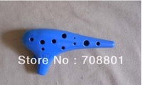 Ocarina,professional pottery flute, High-pitch mini f 6 mini cloth bag cd  ,freeshipping