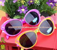 2Pcs Kids fashion sunglass cartoon fairy baby butterfly Anti UV Eyewear Sunglass children decoration sun glass High Quality