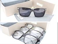 Thom browne tb701 plain mirror male sunglasses ultrafine mirror