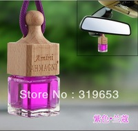 Car Perfume Liquid Auto Hanging Perfume Bottle Essential Oil Aromatherapy Car Fragrance + Free Shipping