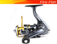 Lightweight aluminum lure fishing reel spinning metal for sea fishing 11 bearing(zfa5000) free shipping