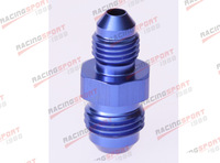 AN -12 AN12 to AN -10 AN10 Straight Reducer Adapter adaptor Fittings AD2008 blue