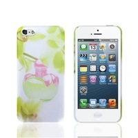 Fashion Perfume Yellow Tempting Protective Back Cover Case Skin With Odour for  iPhone 5G/5S/4/4S