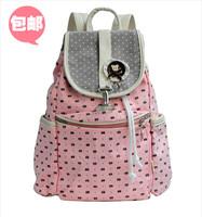 Big primary school students school bag double-shoulder women's casual travel bag