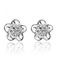 Accessories glossy zircon stud earring stud earring zirconium stud earring quality stud earring