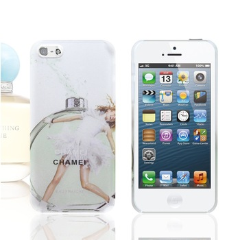 New Perfume Series Young Girl With Aroma Cover Cell Phone Case for Iphone 4 4s 5 5g