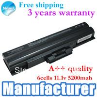 Laptop Battery For sony VGP-BPS13 BPS13/B BPS13A VGP-BPS13/Q  VGP-BPS13B/Q BPS13B/B VGP-BPS13A/R without cd