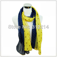 2013 New arrival Fashion print flower hijab shawl lady scarf Lady scarves 10 pcs/lot 8 color available  Free shipping