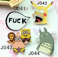 (MIN MIX ORDER IS $10Free shipping )2013 new style acrylic brooch SpongeBob SquarePants  pin fashion gift 016