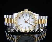 Fashion man Luxury watch ladies Automatic watches Stainless steel Mechanical movement wristwatch   ..R12