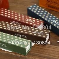 Fashion Korea stationery dot single tier box paper pencil case stationery box pencil box pencil case