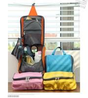 2014 New Waterproof Cosmetic Bag Travel Wash Organizer Makeup Storage Bag Wholesale Free Shipping