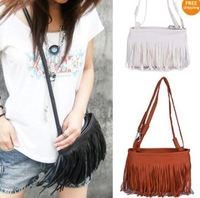 Fashion Fringe Tassel Shoulder Messenger Bag Hand Style Women